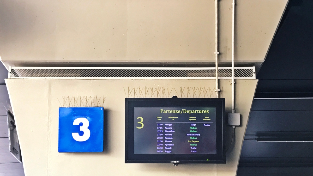 Como ir de Roma (ou Aeroporto Fiumicino) a Perugia?
