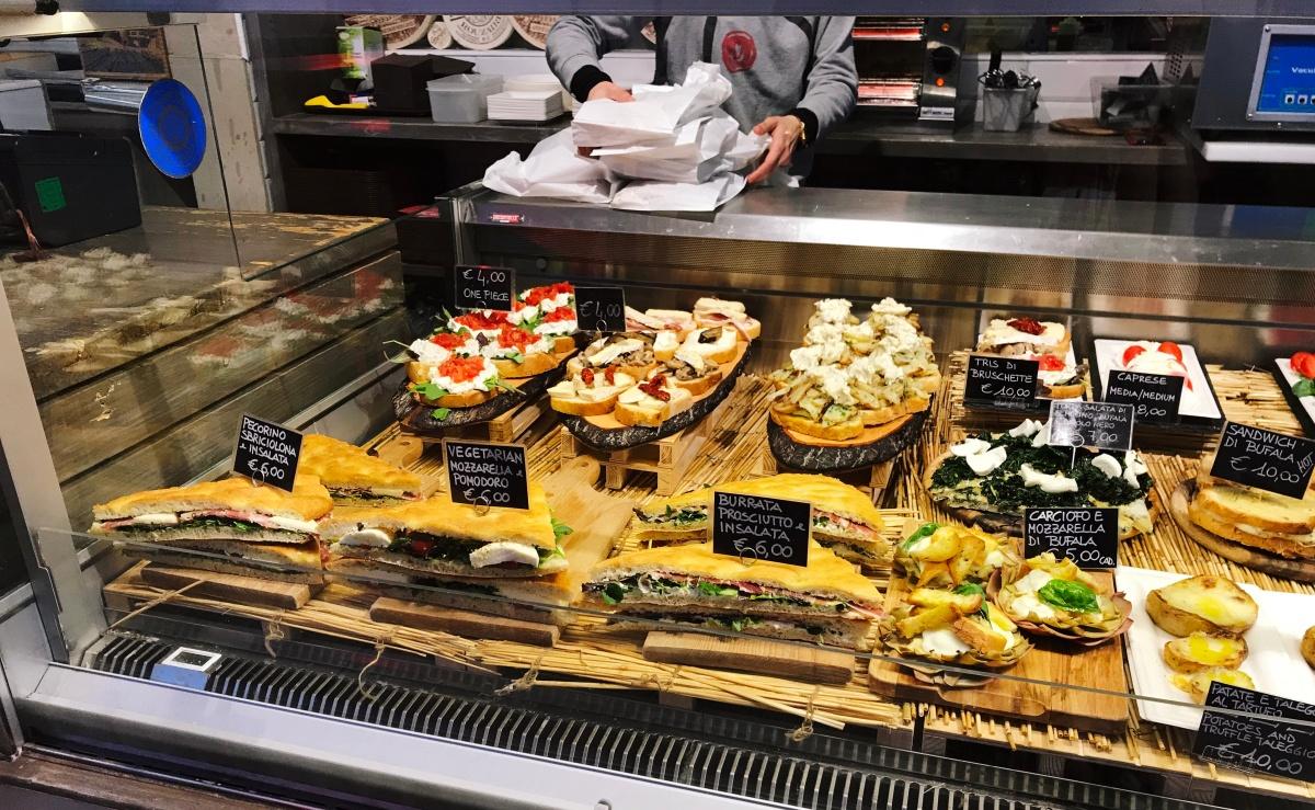 Passeio no Mercado de San Lorenzo + Almoço no Mercado Central de Florença